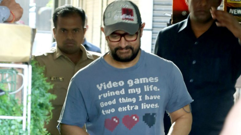 Aamir Khan's 'Video Games Ruined My Life' T-Shirt Slogan Will Make Every Gamer Say 'Winner Winner!' (View Pics)