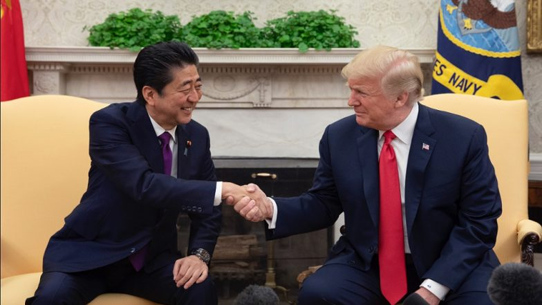 Japan's Shinzo Abe Indirectly Admits He Nominated Donald Trump for Nobel Peace Prize