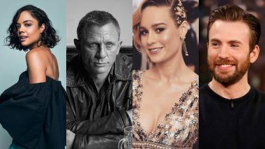 Chris Evans, Tessa Thompson, Brie Larson, Daniel Craig, Jennifer Lopez - The Academy Awards 2019 Announces The First Round Of Presenters!