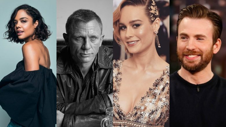 Chris Evans, Tessa Thompson, Brie Larson, Daniel Craig, Jennifer Lopez - The Academy Awards 2019 Announces The First Round Of Presenters!