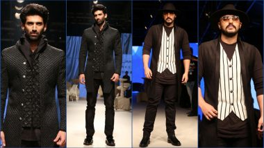 LFW 2019: Aditya Roy Kapur and Arjun Kapoor Walk the Ramp for Kunal Rawal (See HD Pics)