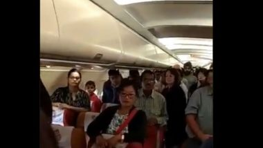 Naik Buta Singh Martyred in Line of Duty in Sikkim, Air India Passengers Stand to Honour Soldier, Watch Video