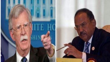 NSA Ajit Doval Speaks to American Counterpart John Bolton on India-Pakistan Tensions, Security Situation Post Pulwama Attack