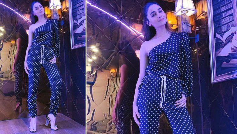 Alia Bhatt Gives a Glimpse of Her Swanky Vanity Van Designed by Shah Rukh Khan's Wife Gauri Khan (View Pics)