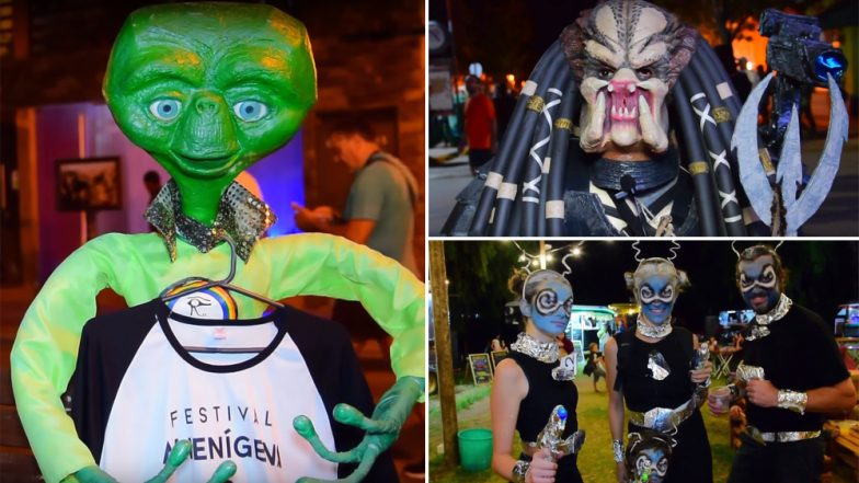 'Aliens' Take Over Argentina as Part of Annual Alien Festival 2019, Watch Video