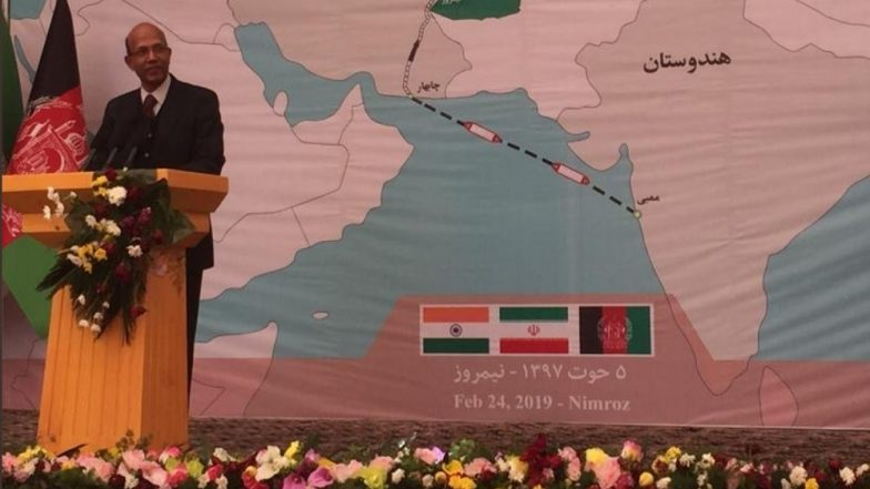 Afghanistan Begins Exporting Goods to India through Strategic Chabahar Port in Iran