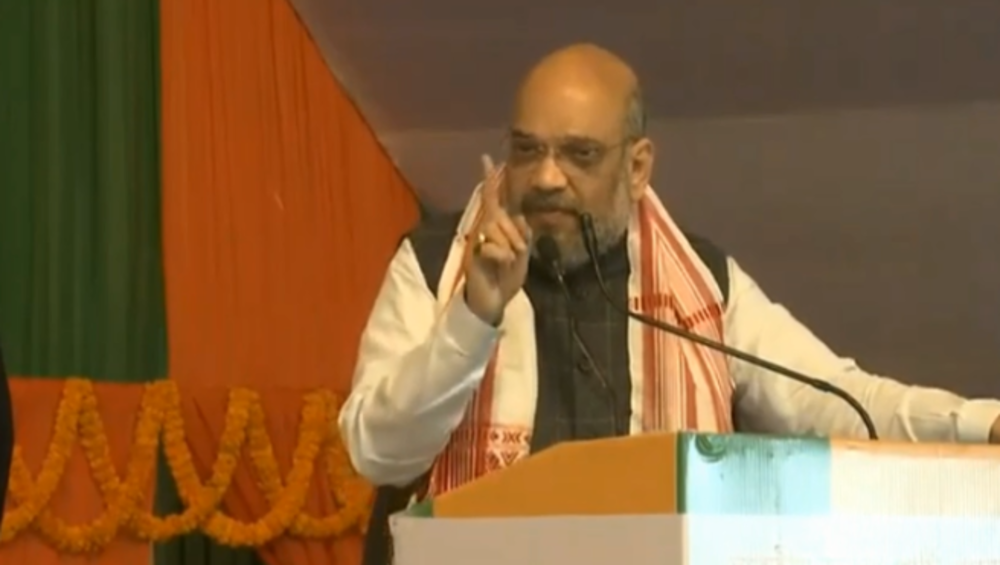'Ram Temple to Be Built in Ayodhya Within Four Months,' Says Amit Shah During Jharkhand Rally