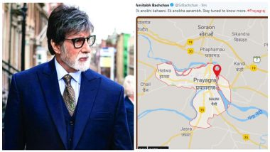 Amitabh Bachchan Posts, and Later Deletes, Tweet About 'Prayagraj' and We Wonder What's That About!