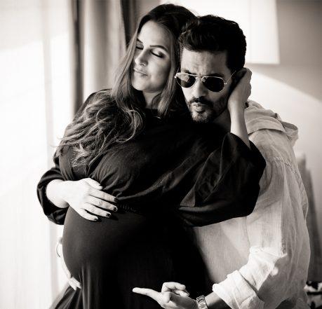 Angad Bedi and Neha Dhupia's Baby Announcement