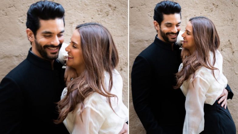 Angad Bedi Birthday: Neha Dhupia's Adorable Post for Her Husband Speaks a Thousand Words (View Pic)