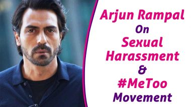 EXCLUSIVE: Arjun Rampal Talks About Sexual Harassment in Bollywood and the #MeToo Movement