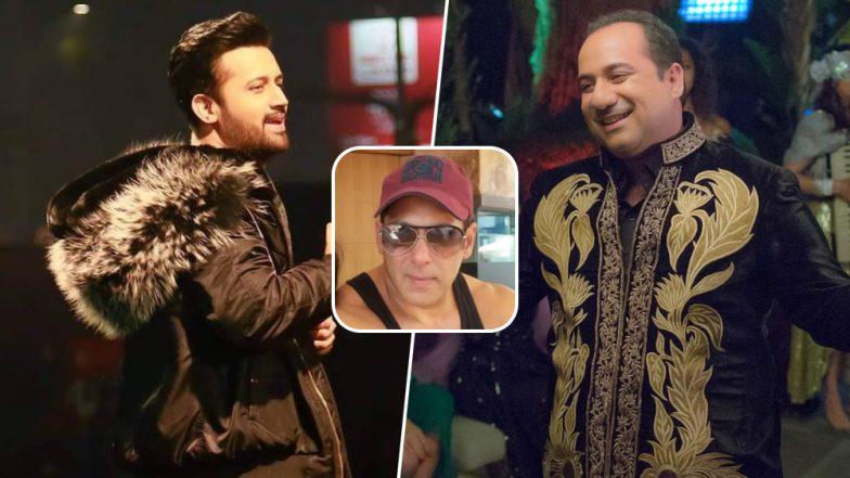 Pulwama Terror Attack: Atif Aslam and Rahat Fateh Ali Khan Were Never a Part of Salman Khan's Bharat?