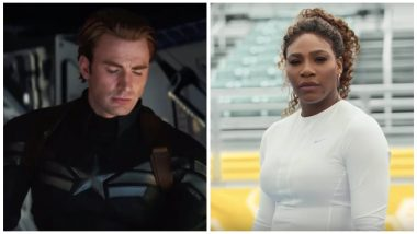 Avengers EndGame: Did Serena Williams Just 'Leak' Captain America's Death in the Upcoming Marvel Movie? Watch Video