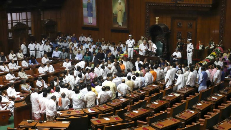 Karnataka Coalition Government in Minority, Claims BJP as 9 Congress MLAs Skip Assembly Session
