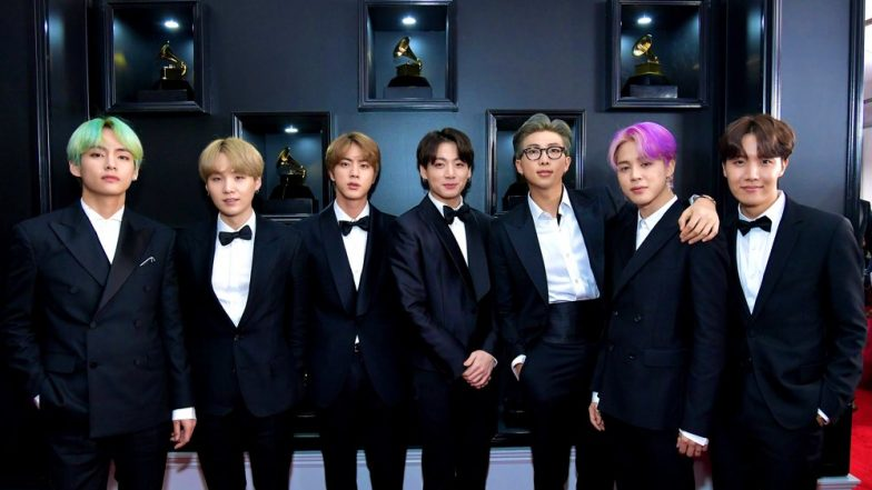 Grammys 2019 BTS: K-Pop Band In Matching Suits Is Going Viral For Their Entertaining Videos From The Award Show
