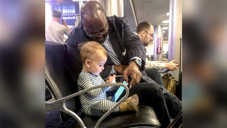 Baby Bonds With Stranger at US Airport; Father Thanks Man for Showing Daughter 'Compassion' in a Country 'Divided by Beliefs'