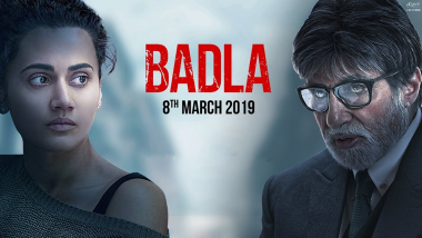 Badla Movie: Review, Box Office Collection, Budget, Story, Trailer of Amitabh Bachchan, Taapsee Pannu, Sujoy Ghosh Film
