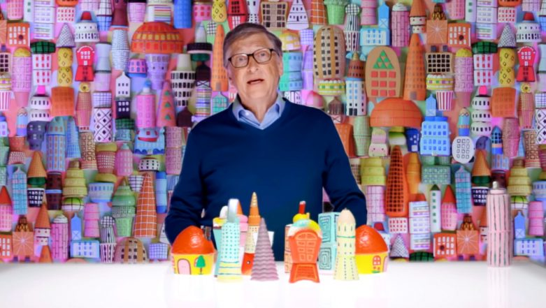 Bill Gates Explains Contributors And Effects of Climate Change Using Colourful Toys (Watch Video)