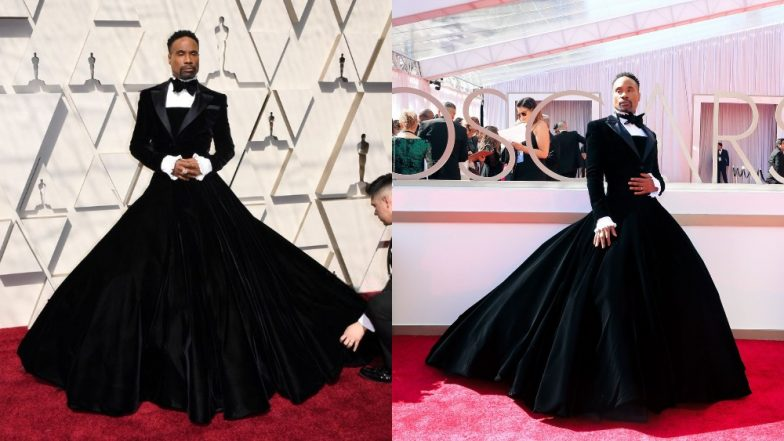 Academy Awards 2019 Red Carpet: Pose Actor Billy Porter Is Already Winning Hearts For Showing Up In A Suave Black Tuxedo Gown!