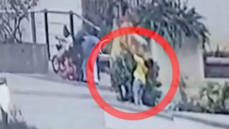 Heartbreaking Video: 6-Year-Old Boy Gets Electrocuted in Hyderabad While Playing, Shocking Incident Captured on Camera