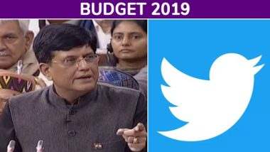 Budget 2019: Piyush Goyal Rejigs Tax Slab, Rolls-Out Income Support Scheme For Farmers, Here's How Politicians React