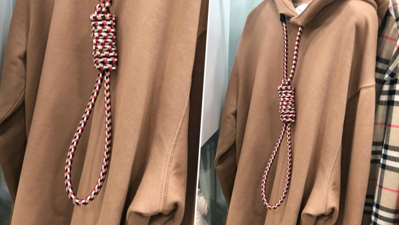 Burberry Apologises For Recent Collection of 'Suicide' Hoodie at London Fashion Week After Model's Criticism