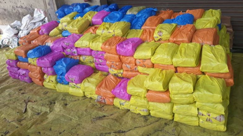 Cannabis Captured: 865 Kg of Ganja Seized From Town Neighbouring Visakhapatnam