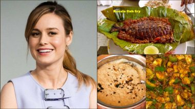 Captain Marvel Aka Brie Larson Huge Fan of India, Loves Eating Kerala Fish Dishes, Coconut Chutney and Pickles!