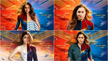 Captain Marvel Fever Grips South Indian Actresses Kajal Aggarwal, Samantha, Tamannaah & Rakul Preet Singh (View Pics)