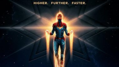 Captain Marvel New Poster: Brie Larson As The Badass Superhero Soars High Above Planet Earth!