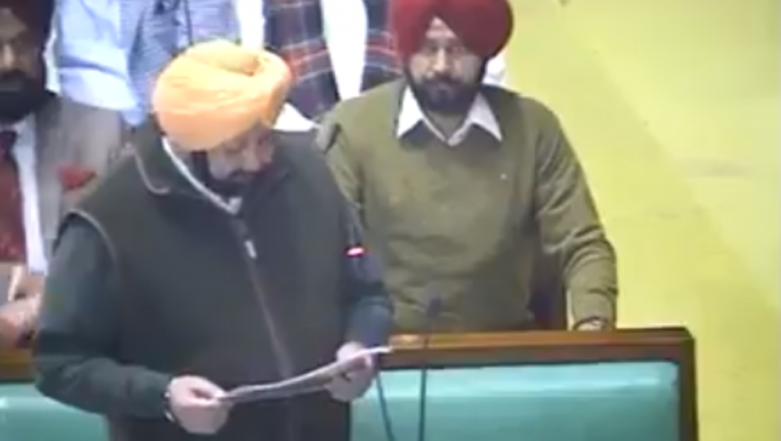 Pulwama Terror Attack: Time for peace talks over with Pakistan, Says Capt Amarinder Singh in His Powerful Speech at Punjab Assembly; Watch Video