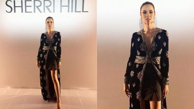 Miss Universe 2018 Catriona Gray Called Out By Diet Sabya For COPYING Sabyasachi Mukherjee's Firdaus Couture Creation (View Pic)