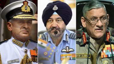 Indian Army, Air Force, Navy to Address Joint Press Meet at 7 PM Today Amid India-Pakistan Tensions
