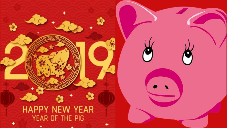 Chinese New Year 2019 Wishes: WhatsApp Stickers for Year of the Pig, CNY Greeting Cards, Quotes and GIF Images to Wish Happy Lunar New Year