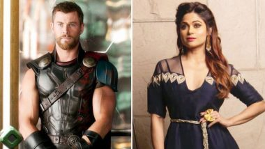 Did Chris Hemsworth Aka Thor Just Wish Shamita Shetty on Her Birthday? (Watch Video)