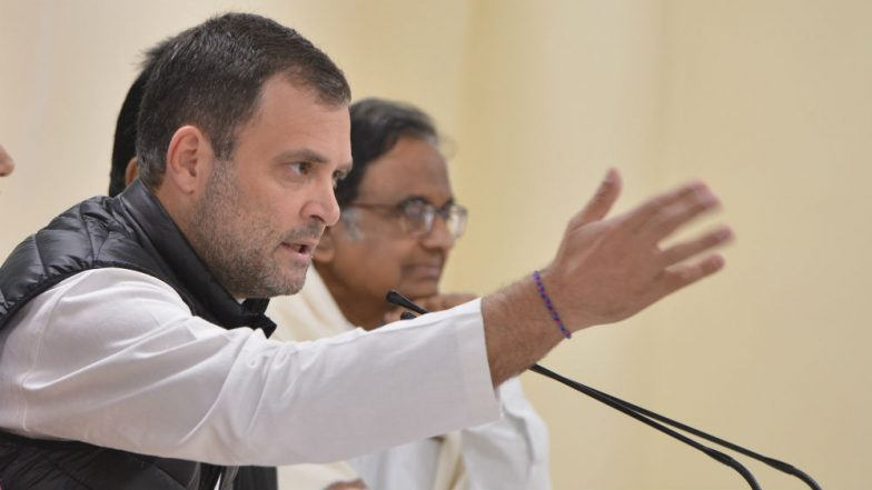 Threat to Rahul Gandhi's Life, Laser From Sniper Gun Aimed at Him in Amethi, Congress Tells MHA