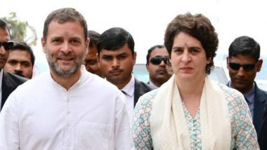 Priyanka Gandhi Backs Rahul Gandhi's Decision to Quit As Congress President, Says Only Few Have Such Courage