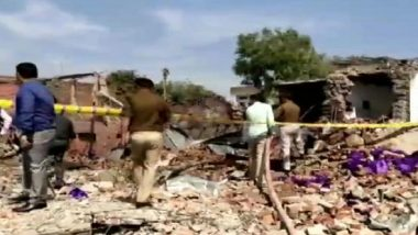 Uttar Pradesh: 10 People Killed in Explosion Inside Carpet Factory in Bhadohi; Rescue Operations Underway