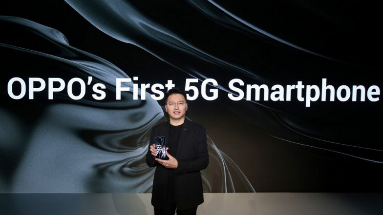 MWC 2019: Oppo's First 5G Smartphone Officially Announced in Barcelona