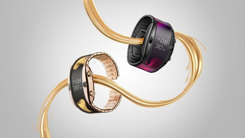 MWC 2019: Nubia Alpha Wearable Flexible Smartphone Showcased At Mobile World Congress in Barcelona