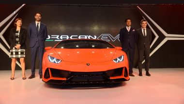2019 Lamborghini Huracan Evo Supercar With 325 Kmph Top Speed Launched; Price in India at Rs 3.73 Crore