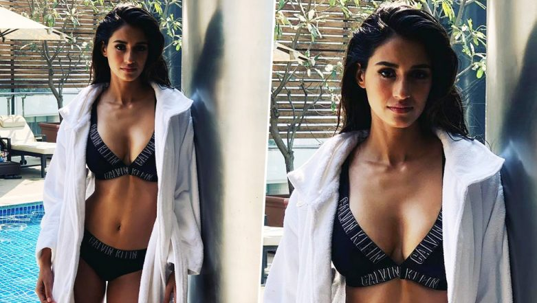 Disha Patani Continues To Raise Hotness Quotient In Calvin Klein Photoshoot! View Pic