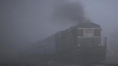 Dense Fog Engulfs North India, 21 Trains in Northern Region Running Late Due to Low Visibility