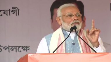 PM Narendra Modi in Arunachal Pradesh: Lays Foundation Stone of Greenfield Airport, Inaugurates Upgraded Airport at Tezu