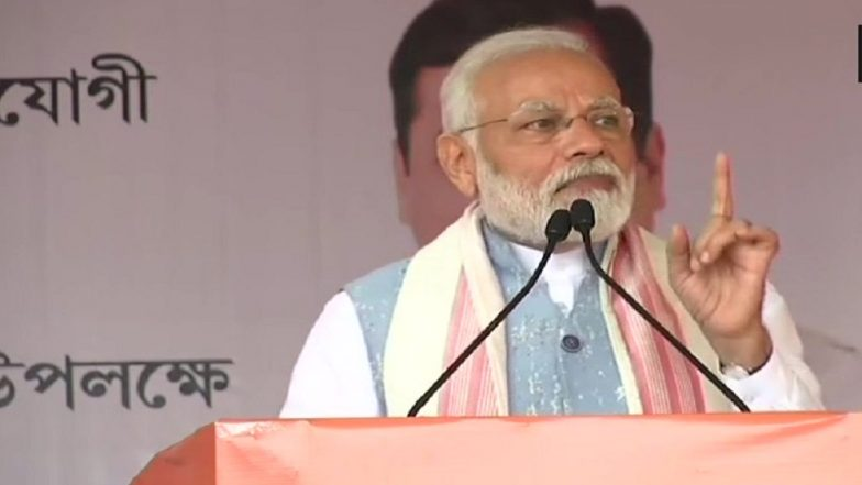 PM Narendra Modi Sounds Poll Bugle on Twitter, Urges Rahul Gandhi, Mamata Banerjee, Sachin Tendulkar and Others to Encourage Citizens to Vote in Lok Sabha Elections 2019