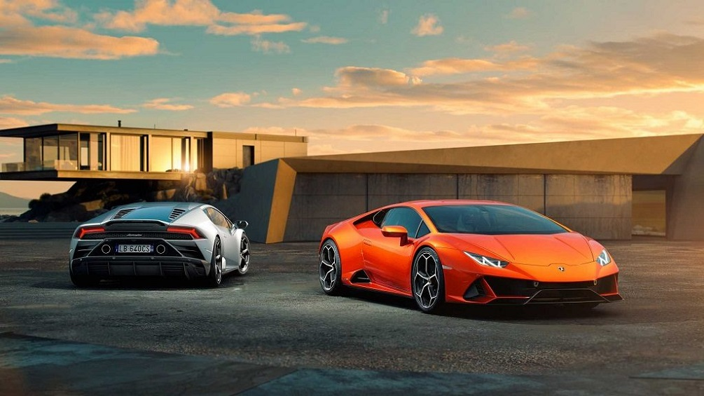 2019 Lamborghini Huracan Evo Supercar With 325 Kmph Top Speed