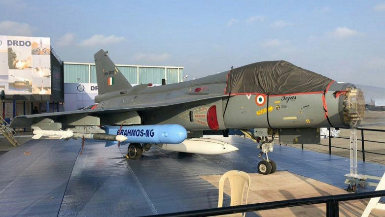 Aero India 2019: Dummy Version of Upgraded BrahMos NG Missile Showcased at Yelahanka Air Base in Bengaluru