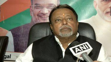 TMC Legislator Murder Case: Two BJP Supporters Arrested, Mukul Roy Named in FIR