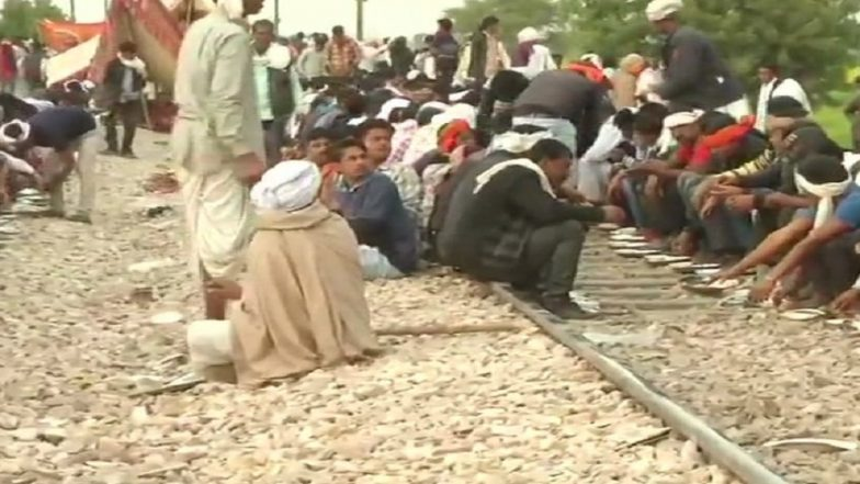 Gujjar Quota Stir in Rajasthan: 18 Trains Plying on February 10 Cancelled, 13 Trains Diverted