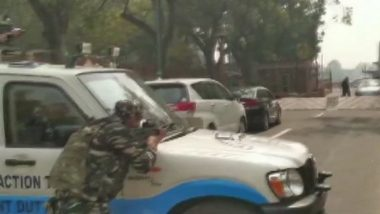 Parliament Security at Risk? Congress MP Dr Thokchom Meinya's Car Rams Into Barricade, High Alert Issued